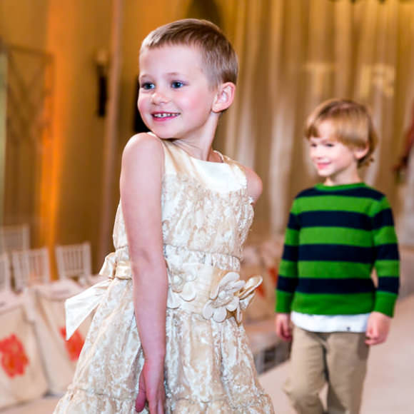 Little Girl at the Lombardi Children's Hospital Fashion Show