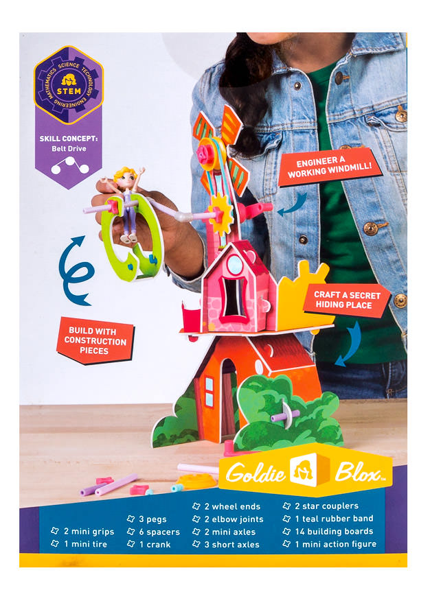 Product Photography Shot for GoldieBlox Toys
