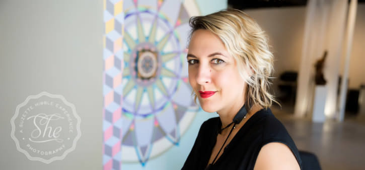 Paige Loczi of LOCZIdesign, entrepreneur and mother