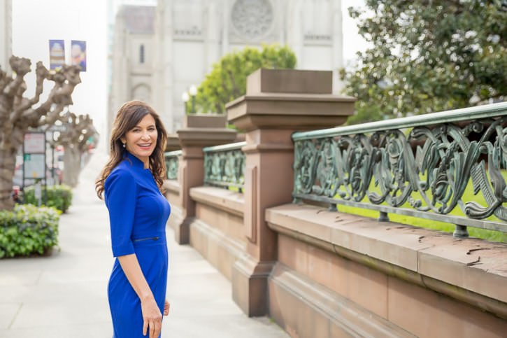 Donna Gallant at Grace Cathedral SF, Personal Branding Shoot