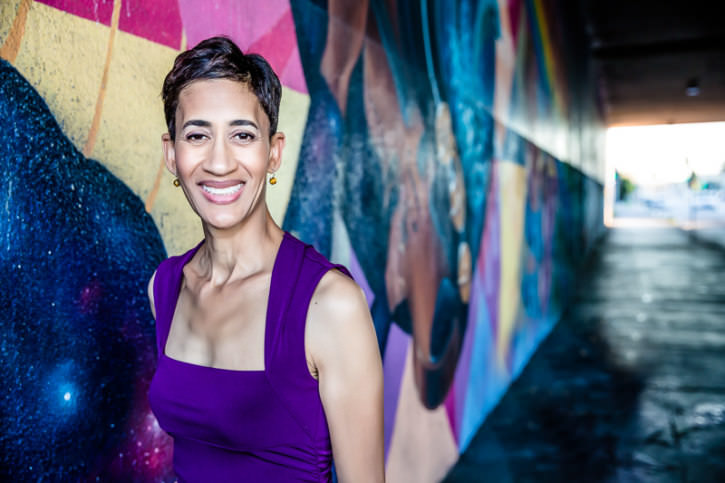 Ronni Brown, Berkeley Underpass Mural, Personal Branding Shoot