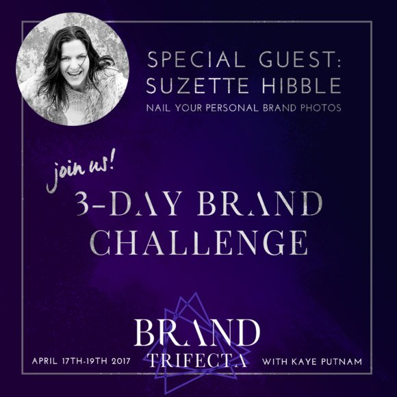 Brand Trifecta Special Guest Suzette Hibble, SHE Photography