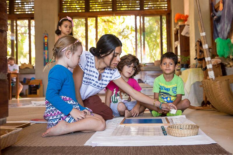 School kids El Jardin School
