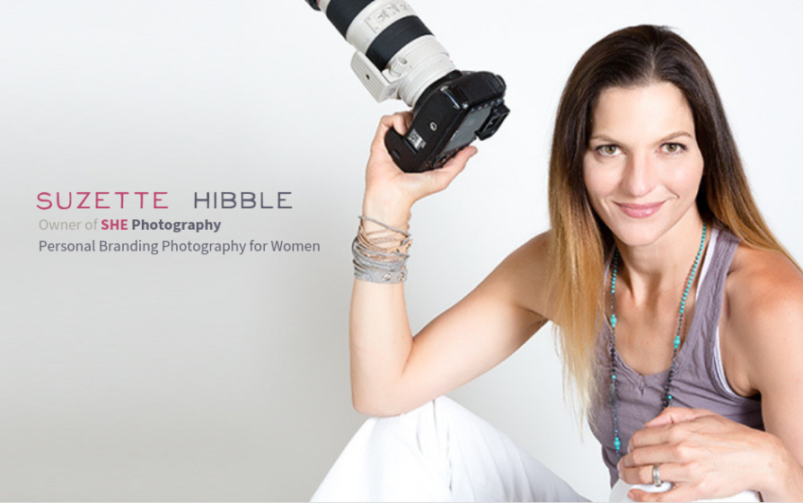 Suzette Hibble, owner SHE Photography