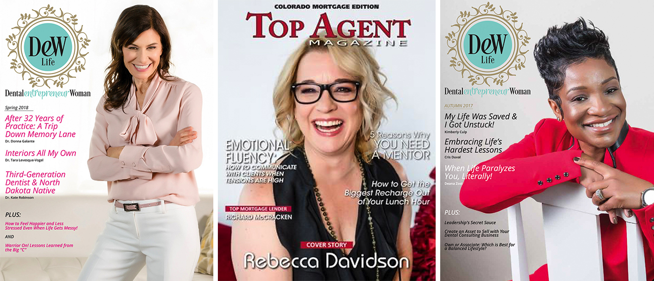 magazine covers by SHE photography