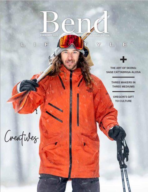 Bend Lifestyle Magazine, SHE Photography cover image Sage Cattabriga-Alosa