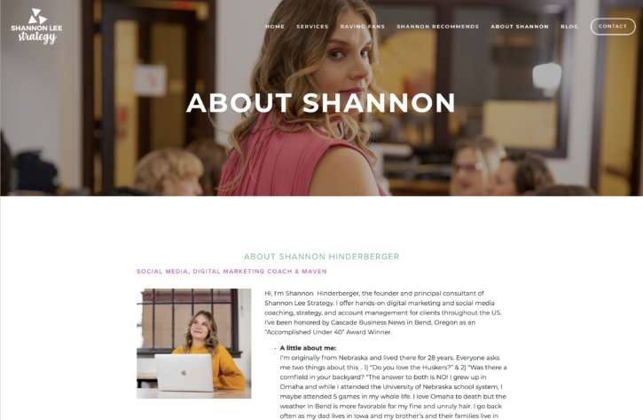 SHE photography photos in use Shannon Lee Strategy